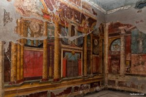 frescoes in Villa di Poppea, Oplontis