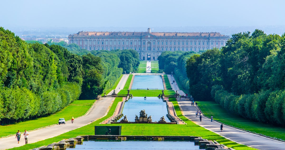 The Palace at Caserta