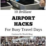 best airport hacks for busy travel days