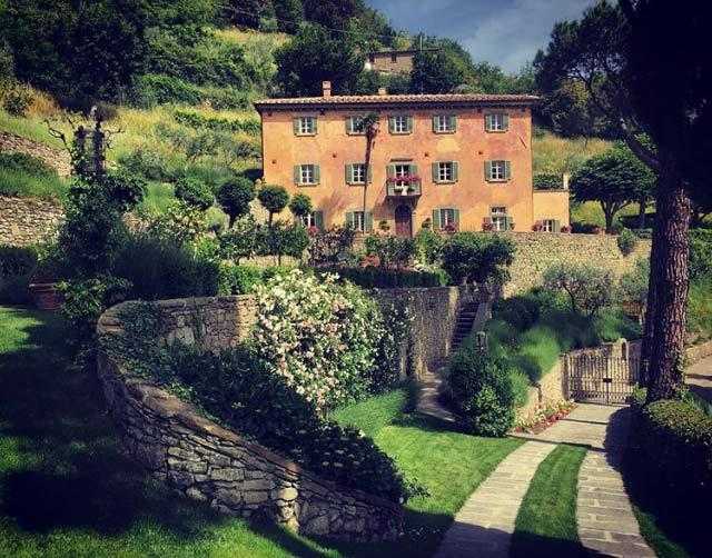Bramasole Frances Mayes house in Cortona, Tuscany