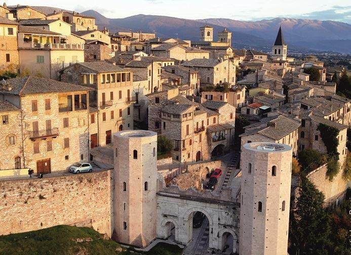 Spello in Umbria, Italy
