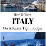 How To Travel Italy On A Tight Budget