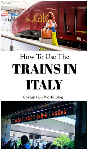 How to use the trains in Italy. A step by step guide to using trains in Italy