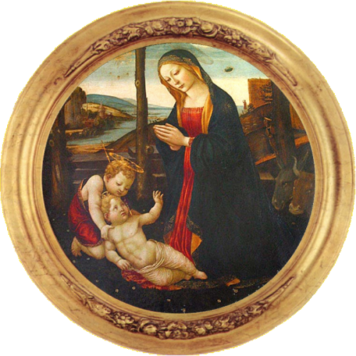 Madonna of the UFO, Palazzo Vecchio, Florence