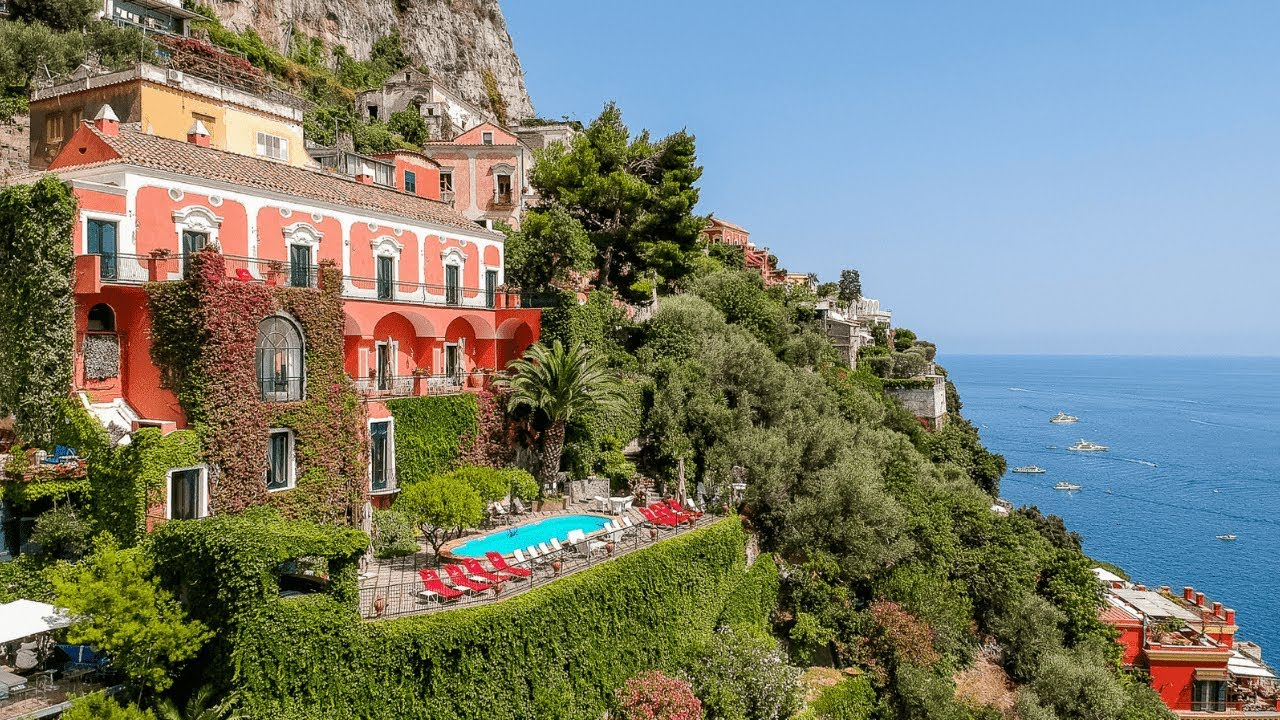 Villa on the Amalfi Coast of Italy