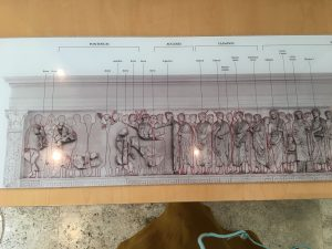 Ara Pacis carvings explained