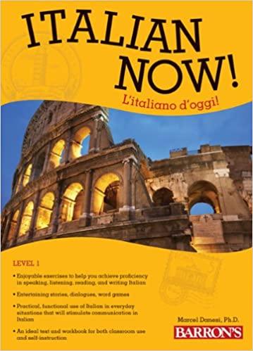 Barron's Italian Now! Text book