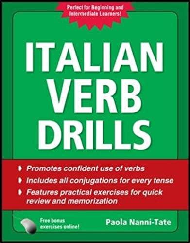 Nanni Tate Italian Verb Drills