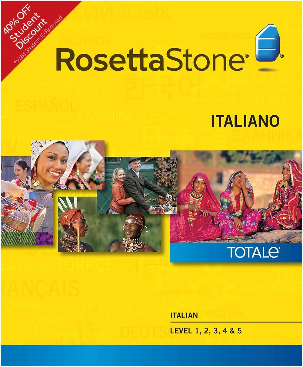 Rosetta Stone Italian Level 1-5