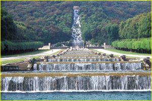 caserta palace gardens waterways and fountains