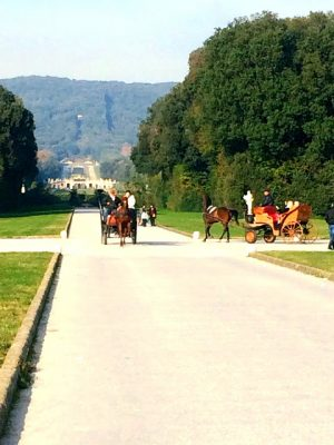 caserta palace horse and carriage