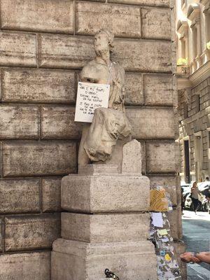Pasquino the Talking Statue of Rome