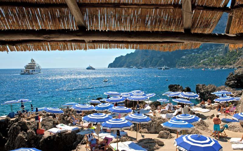 Fontellina Beach Club Capri