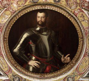 Cosimo I de Medici portrait Studiolo Ferdinando Palazzo Vecchio