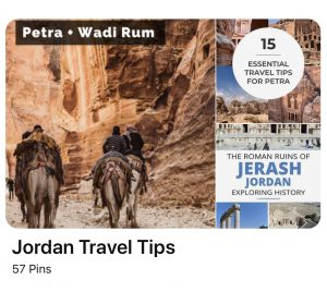Pinterest Jordan Travel Ideas