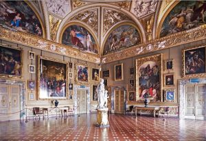 Inside the Pitti Palace Florence