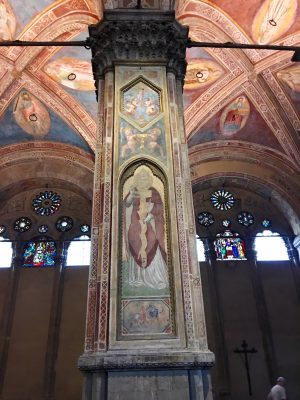 interior of Orsanmichele