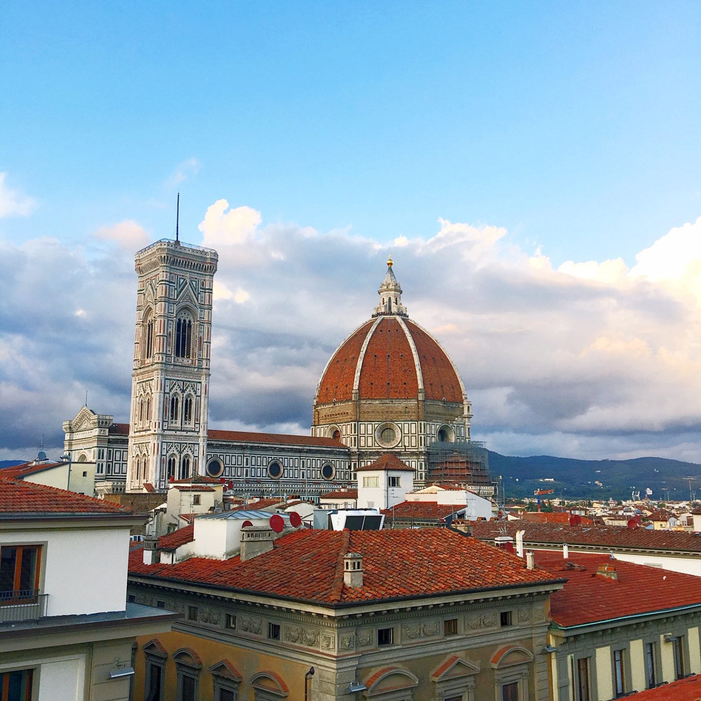 Florence across the rooftops