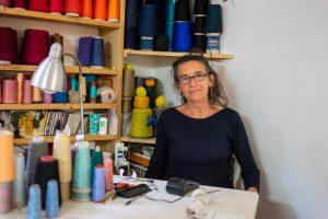 Artisan Weaver In Tuscany