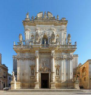 basilica san giovanni battista in Lecce Italy