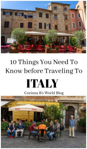 10 things you need to know before you travel to Italy