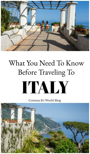 What you need to know before traveling to Italy
