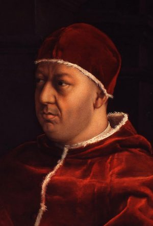 Pope leo X by Raphael