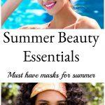 Essential Masks for summer