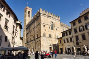 The Palazzo bargello in Florence
