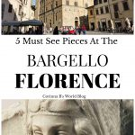 what to see at the Bargello in Florence