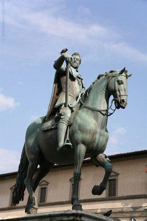 Ferdinando I by Giambologna, Florence Italy