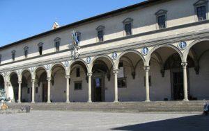 Ospedale degli Innocenti, Piazza SS Annunciata, Florence