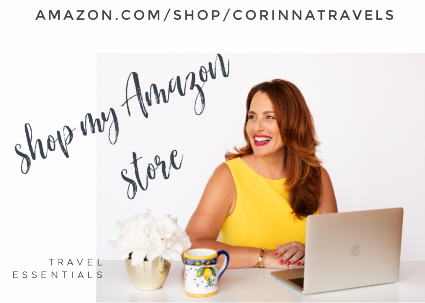Amazon Influencer Store Corinna Travels