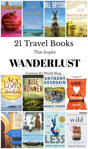 21 books that will make you want to travel the world