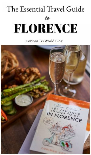 The essential Florence travel guide book. You must get this book before you travel