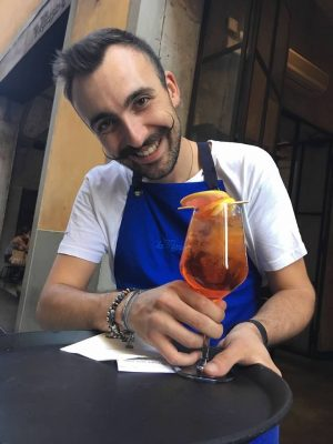 aperol spritz in Florence
