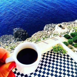 Italian coffee in Puglia
