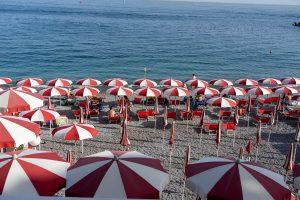 sun umbrellas amalfi