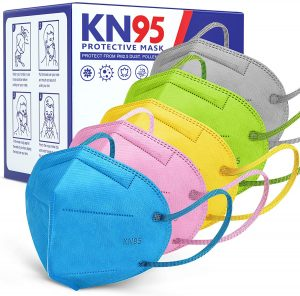 colored KN95 masks